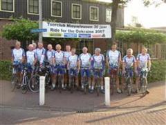 Vertrek fietsclub foto 1