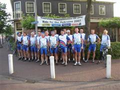 Vertrek fietsclub foto 7