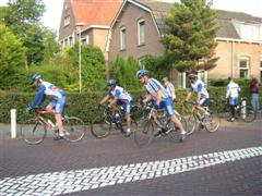 Vertrek fietsclub foto 13