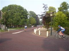 Vertrek fietsclub foto 14